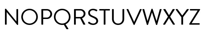 Brandon Grotesque Regular Font UPPERCASE