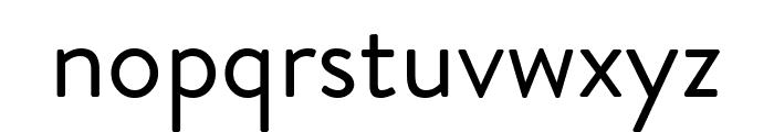 Brandon Grotesque Regular Font LOWERCASE