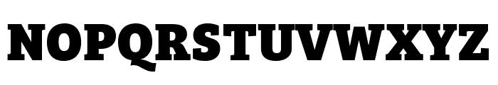Bree Serif ExtraBold Font UPPERCASE
