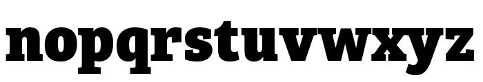 Bree Serif ExtraBold Font LOWERCASE