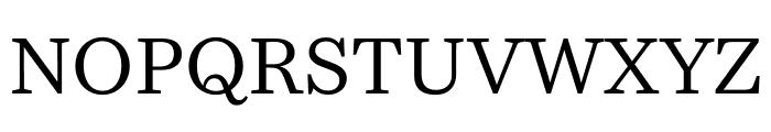 Bressay Display Regular Font UPPERCASE