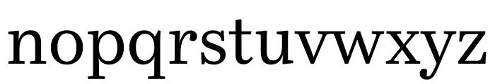 Bressay Display Regular Font LOWERCASE