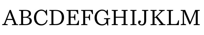Bressay Regular Font UPPERCASE