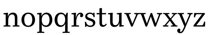 Bressay Regular Font LOWERCASE