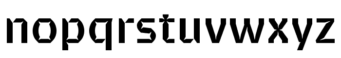 Brevier Bold Font LOWERCASE