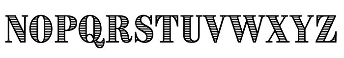 Brim Narrow Combined 3 Font UPPERCASE