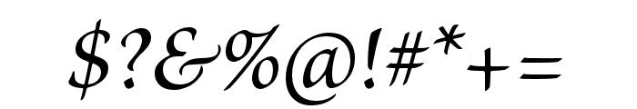 Brioso Pro Medium Italic Font OTHER CHARS