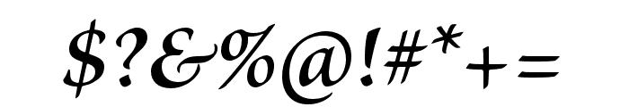 Brioso Pro Semibold Italic Subhead Font OTHER CHARS