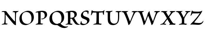 Brioso Pro Semibold Subhead Font UPPERCASE