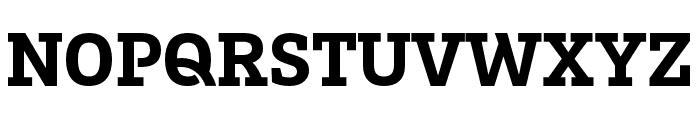 Brix Slab Cond Black Font UPPERCASE