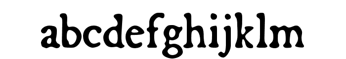 Broadsheet Regular Font LOWERCASE