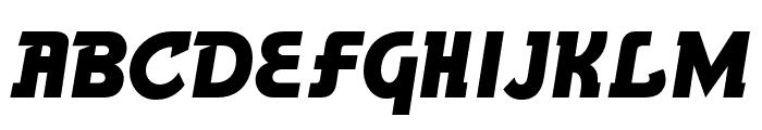 BronsonGothicJF Regular Font UPPERCASE