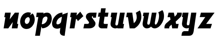 BronsonGothicJF Regular Font LOWERCASE