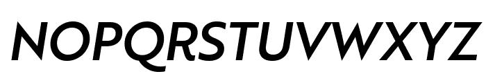 Brother 1816 Medium Italic Font UPPERCASE