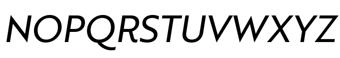 Brother 1816 Regular Italic Font UPPERCASE