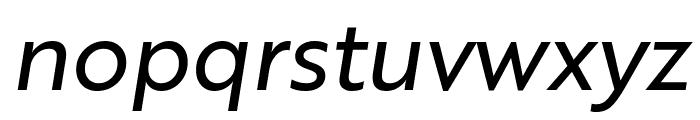 Brother 1816 Regular Italic Font LOWERCASE
