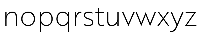 Brother 1816 Thin Font LOWERCASE