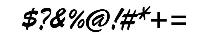 Brush ATF Regular Font OTHER CHARS