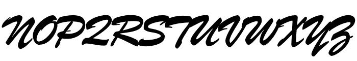 Brush ATF Regular Font UPPERCASE