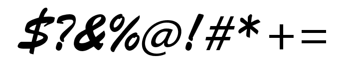 Brush Script Std Medium Font OTHER CHARS