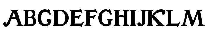 BuenaParkJF Regular Font UPPERCASE
