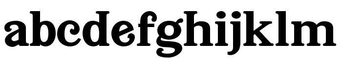 BuenaParkJF Regular Font LOWERCASE