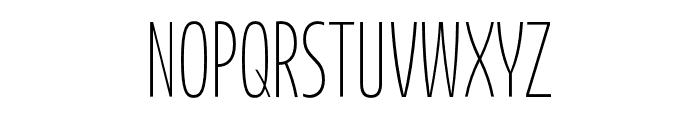 Bufalino Light Font UPPERCASE