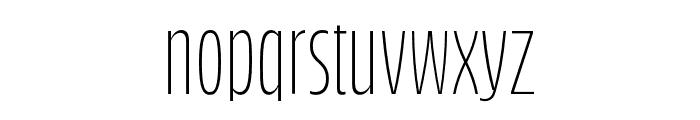 Bufalino Light Font LOWERCASE
