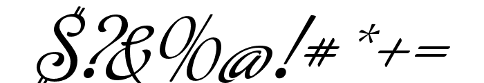 Buffet Script Regular Font OTHER CHARS