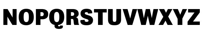 Bureau Grot Compressed Bold Font UPPERCASE