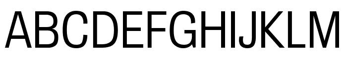 Bureau Grot Compressed Light Font UPPERCASE