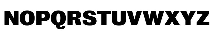 Bureau Grot Extra Compressed Black Font UPPERCASE