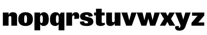 Bureau Grot Extra Compressed Black Font LOWERCASE