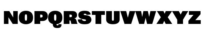 Bureau Grot Ultra Black Font UPPERCASE