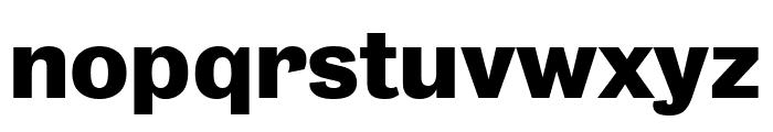 Bureau Grot Wide Bold Font LOWERCASE