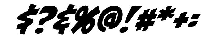 CCBiffBamBoomOutline Regular Font OTHER CHARS