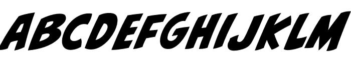 CCBiffBamBoomOutline Regular Font LOWERCASE