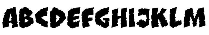 CCClobberinTimeSmooth Regular Font LOWERCASE