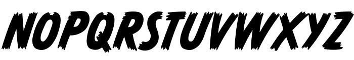 CCMonsterMashOutline Regular Font UPPERCASE