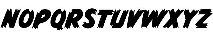 CCMonsterMashOutline Regular Font LOWERCASE