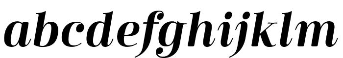 Cabrito Didone Cond Bold It Font LOWERCASE