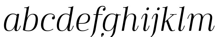 Cabrito Didone Cond Book It Font LOWERCASE