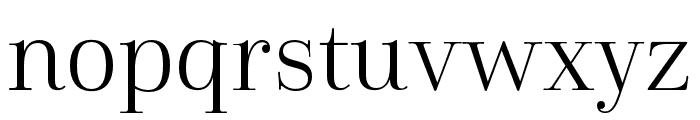 Cabrito Didone Cond Book Font LOWERCASE