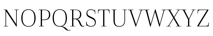 Cabrito Didone Cond Light Font UPPERCASE