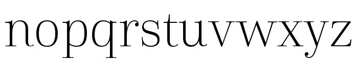 Cabrito Didone Cond Light Font LOWERCASE