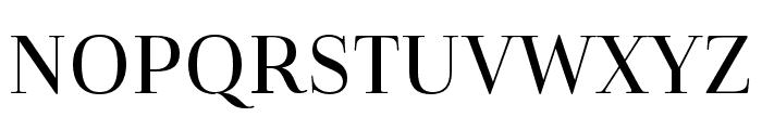 Cabrito Didone Cond Medium Font UPPERCASE