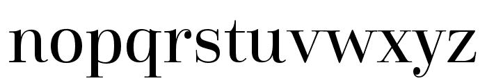 Cabrito Didone Cond Medium Font LOWERCASE