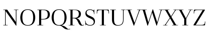 Cabrito Didone Cond Regular Font UPPERCASE