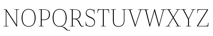 Cabrito Didone Cond Thin Font UPPERCASE