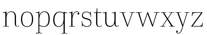 Cabrito Didone Cond Thin Font LOWERCASE